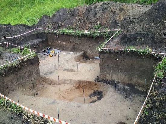 Тульские археологи нашли детские нательные украшения