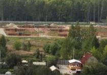 Стройплощадку телебашни на севере Екатеринбурга законсервируют