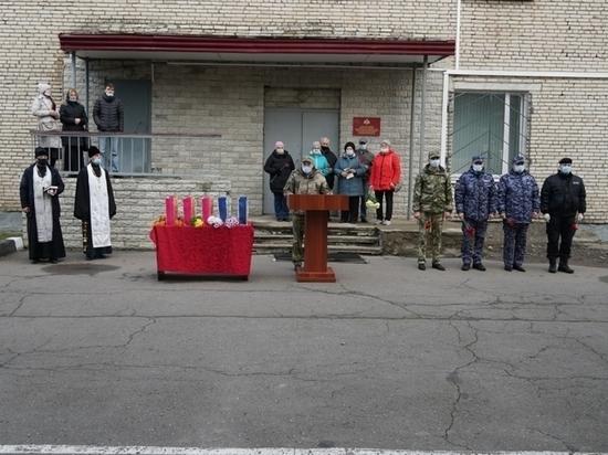 В Пскове почтили память погибших сотрудников ОВД