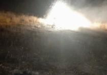 Опубликованы кадры с места крушения сбитого Азербайджаном российского Ми-24