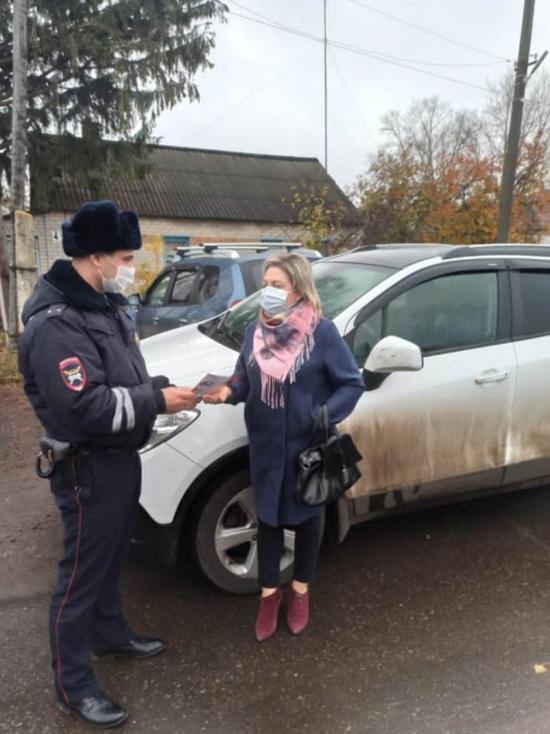 Воронежские госавтоинспекторы провели профилактическое мероприятие «Ребенок - главный пассажир»