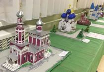 Серпуховичи создали макеты архитектурного наследия