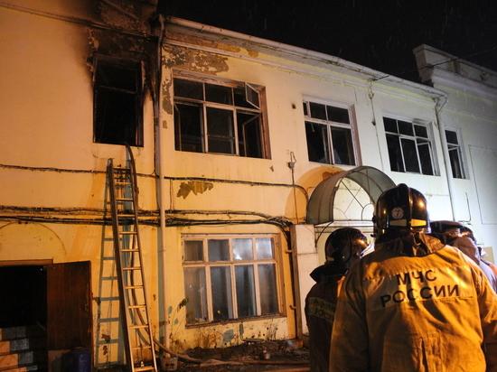 Погибшие в ночном пожаре в Казани оказались сотрудниками ЧОПа