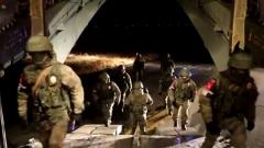Отправку российских миротворцев в Нагорный Карабах сняли на видео
