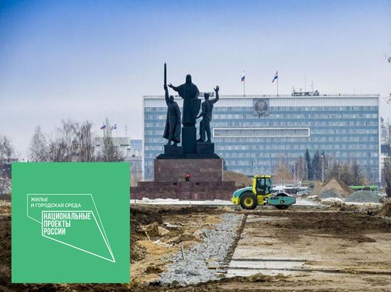 На пермской эспланаде продолжается реконструкция