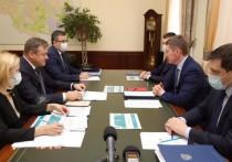 Любимов поблагодарил главу Минэкономразвития за поддержку региона в пандемию