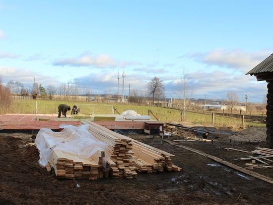 В Чебоксарском районе строится новый ФАП