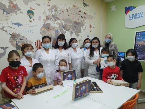 Маленькие пациенты РБ-1 в Якутске стали участниками благотворительного проекта «Мир без слез»