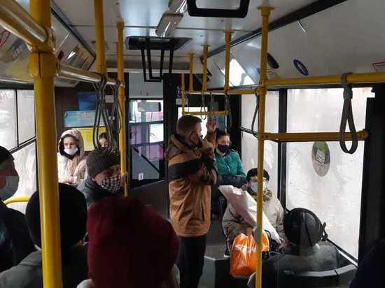 Псковичи жалуются на проблемы с общественным транспортом