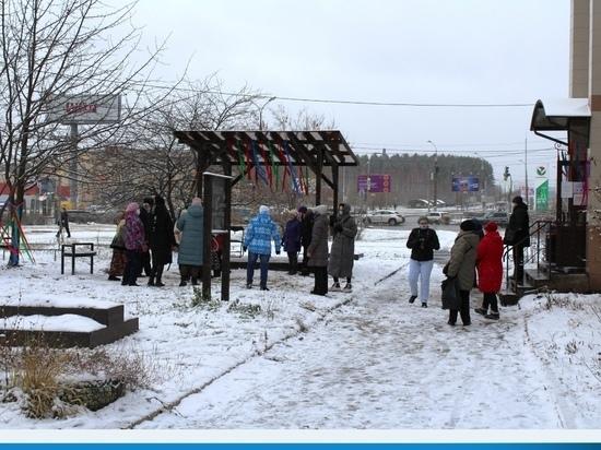 Новый сквер «Ӵош» открылся у бибилотеки № 23 в Ижевске