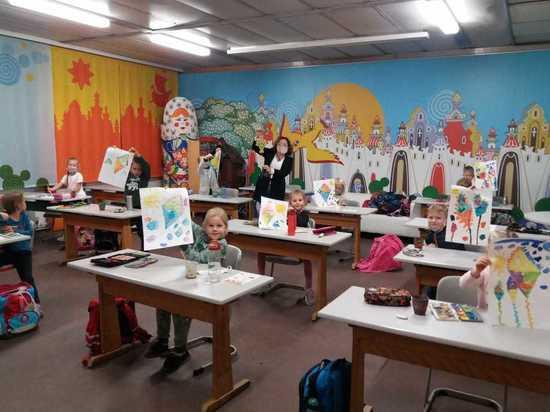 Германия: Осенние уроки творчества в Субботней школе в Нюрнберге