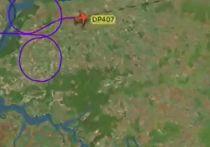 """Журналисты обнаружили при помощи сервиса Flightradar, что самолет авиакомпании """"Победа"""" выписал в небе силуэт огромного фаллоса"""
