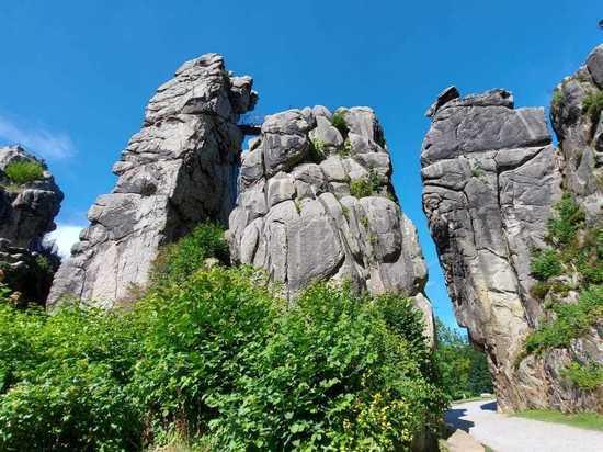Природные и культурные памятники Германии: Экстернштайне