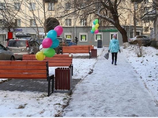 """""""Читающий сквер"""" появился в Ижевске около библиотеки им. Некрасова"""