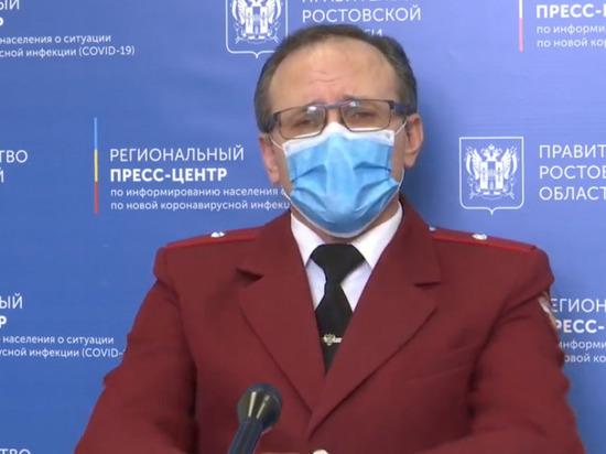 Главный санврач Дона: карантинные меры в регионе ослаблять нельзя
