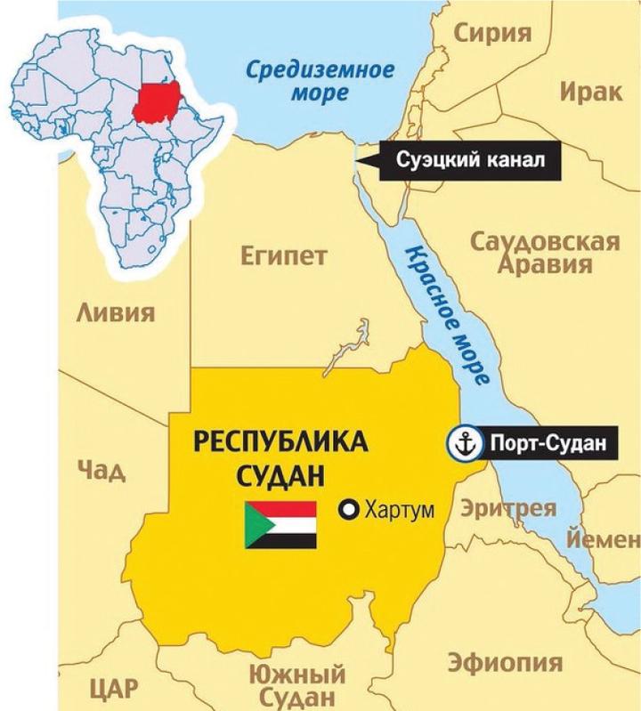Появление российской военной базы в Судане объяснил эксперт