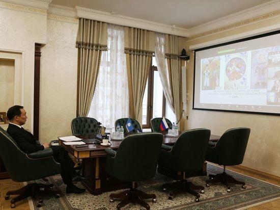Айсен Николаев предложил Конгресс местных властей Евразии провести в Якутске