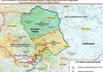 Минобороны РФ опубликовало карту расположения миротворцев в Карабахе
