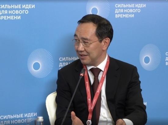Айсен Николаев представил опыт креативной экономики Якутии