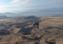 Колонна российских миротворцев отправилась в Нагорный Карабах