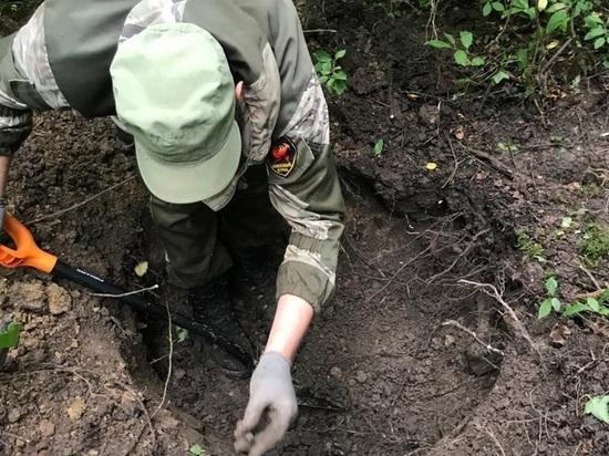 В Тверской области обнаружили останки якутского солдата