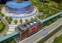 В Новосибирске опубликовали видео с места строительства нового ЛДС