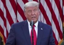 В сети обсуждают новое видео с действующим американским президентом Дональдом Трампом, который после выборов стал полностью седым
