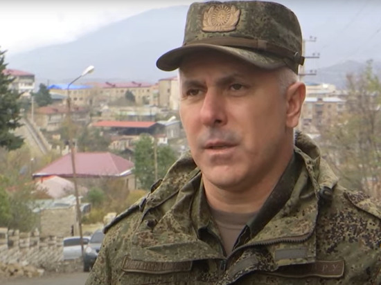Командующий российскими миротворцами в Карабахе генерал Мурадов раскрыл  свою национальность - МК