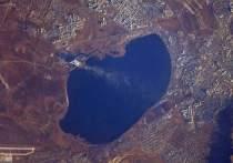 Космонавт сфотографировал Читу во время полета