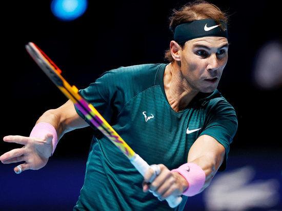 Россиянин выглядел неуверенно, а испанский теннисист показал, что он готов бороться за титул, который еще никогда не выигрывал