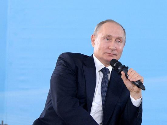 Путин поздравил Санду с победой на выборах в Молдавии