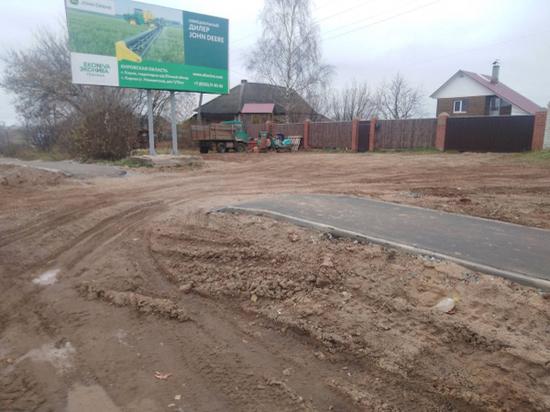 В деревне Прошино жители не могут проехать к своим домам