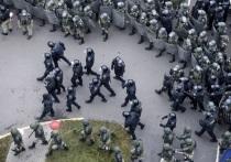 Больше тысячи людей задержаны в минувшее воскресенье в Минске на несанкционированной акции протеста