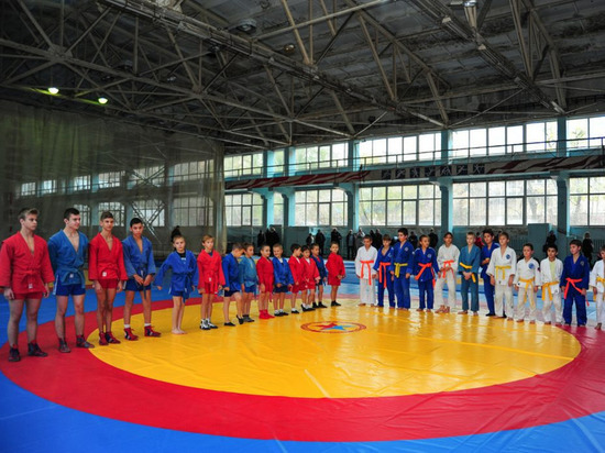 В Донецке открылся новый спортивный зал для самбо и дзюдо