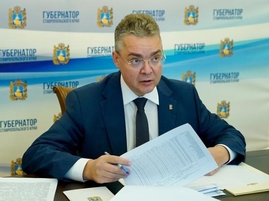 Губернатор Владимиров хочет производить медицинский кислород на Ставрополье