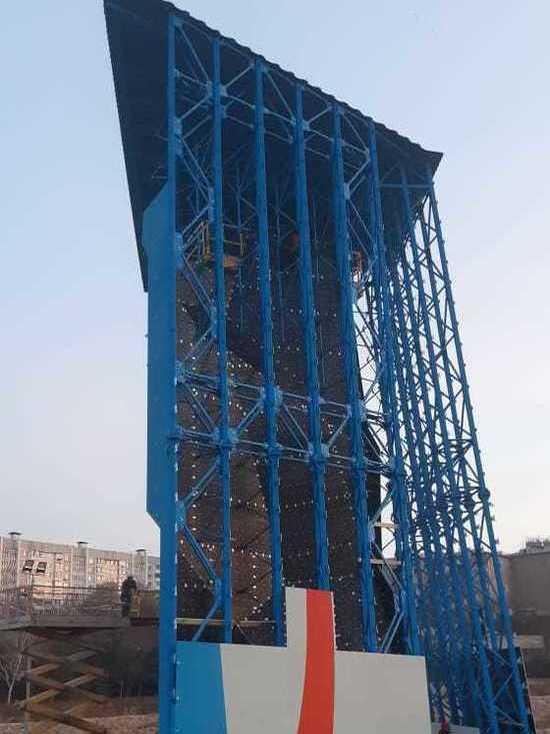 Восемнадцатиметровый скалодром скоро откроют в Кисловодске