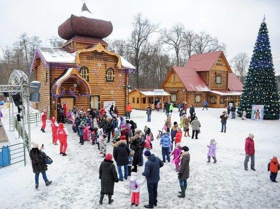 В Московской Усадьбе Деда Мороза откроется «Тропа Сказок»