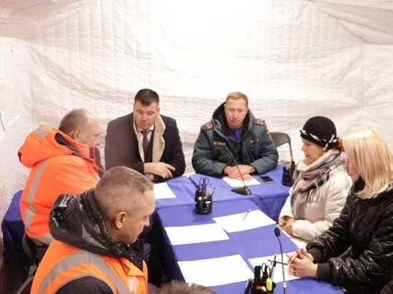 Во Владимирской области введен режим ЧС