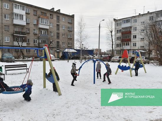 В этом году в Прикамье закончены работы по благоустройству 236 дворов в рамках нацпроекта