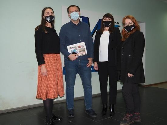 Серпухов посетил заместитель руководителя редакции «МК»
