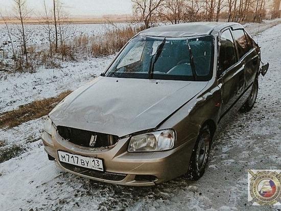 В Чуваши за сутки две машины улетели в кювет