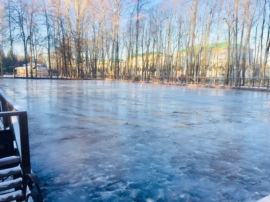 18 ноября в Чебоксарах начнет работать открытый ледовый каток