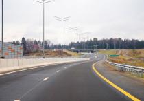 В Подмосковье открылось движение по третьему пусковому комплексу Центральной кольцевой автомобильной дороги — участку, соединяющему трассы М-11 «Нева» и М-7 «Волга»