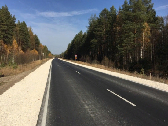 В Шумерлинском районе отремонтировали участок трассы «Чебоксары - Сурское»