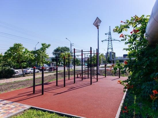 В 2021 году в Ставрополе появится 10 воркаут-площадок
