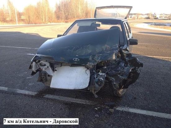 ДТП в Котельничском районе: есть пострадавшие
