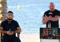 Президент UFC Дана Уайт стоит на своем – чемпион легкого дивизиона Хабиб Нурмагомедов вернется, чтобы добить рекорд до 30-0. Промоушен оставляет россиянину шансы на возвращение, удерживая пояс в легком весе. «МК-Спорт» - об аргументах Уайта.