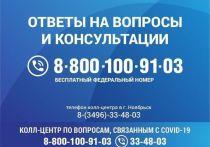 В Ноябрьске специалисты ответят на вопросы о коронавирусе по единому номеру колл-центра
