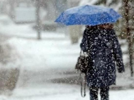 В Калужской области ожидается сильный снег и гололед