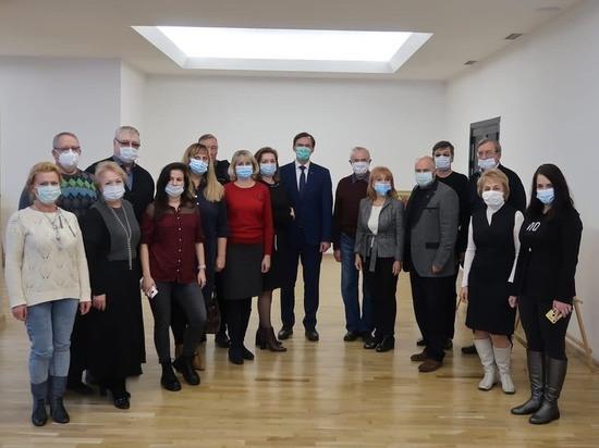 Ставропольским журналистам представили проект велотерренкура